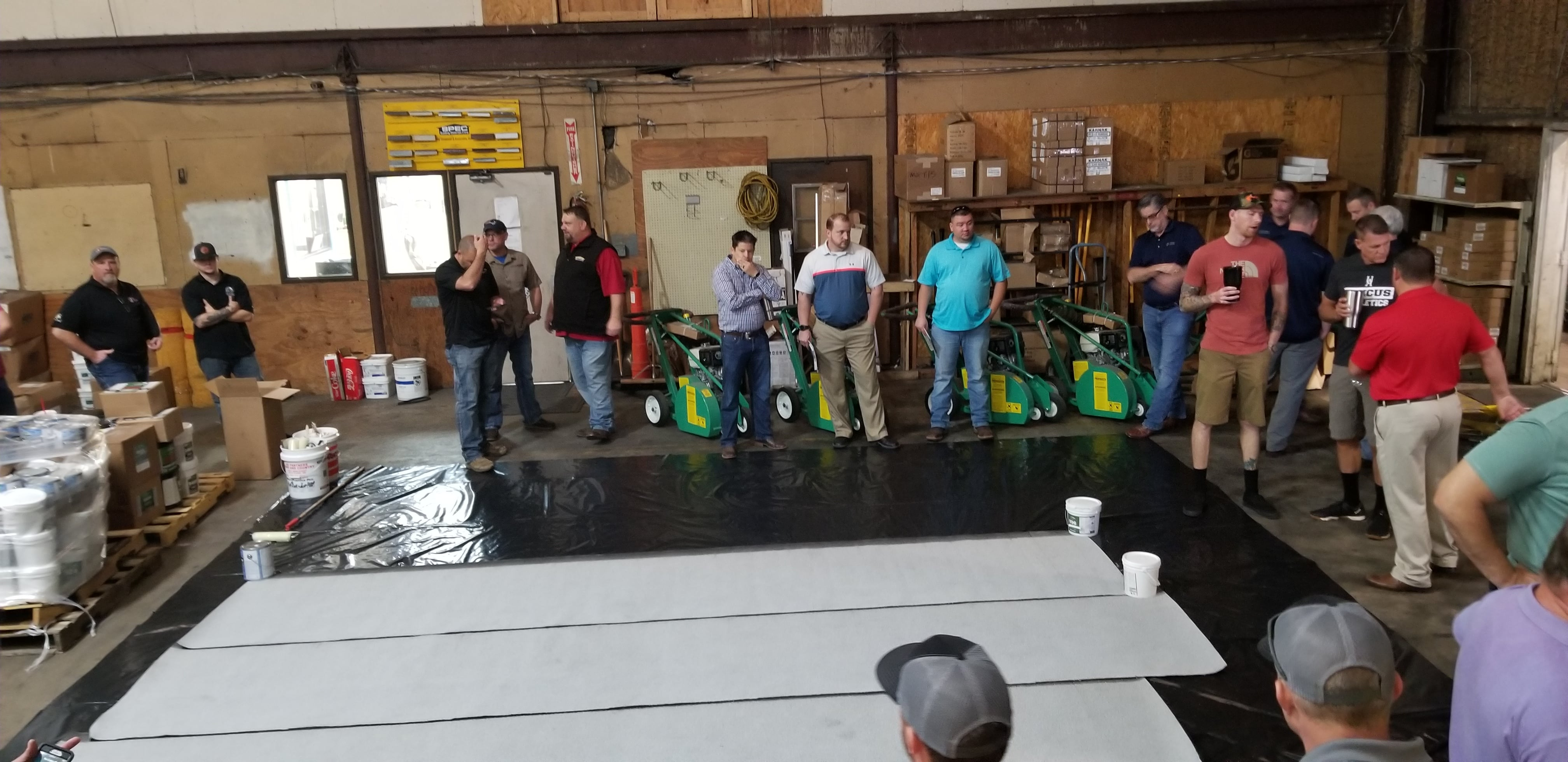 Tropical Roofing Products Amp Hennes Johnson Equipment Demo